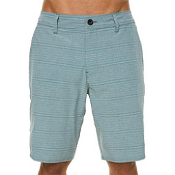 O'Neill Locked Stripe Mens Hybrid Shorts, Dust Blue, 256