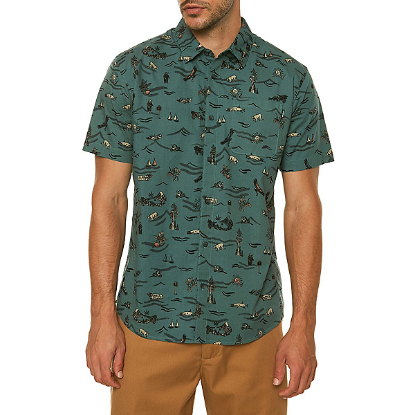 O'Neill Squawk Mens Shirt, , 600