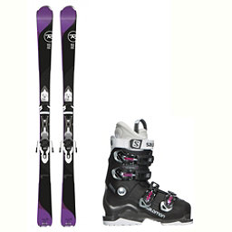 Rossignol Temptation 75 X-Access 60 Wide Womens Ski Package 2018, , 256