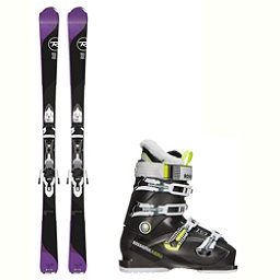 Rossignol Temptation 75 Kiara 70 Womens Ski Package 2018, , 256
