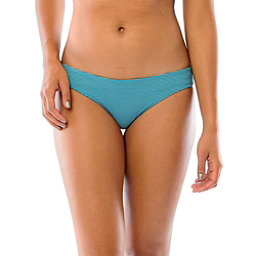 Carve Designs Sanitas Reversible Bathing Suit Bottoms, Agave-Julep Stripe, 256