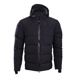 Descente Bern Mens Insulated Ski Jacket, Black, 256