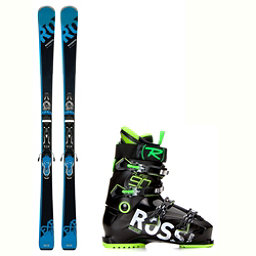 Rossignol Experience 77 BA Alias 90 Ski Package 2018, , 256