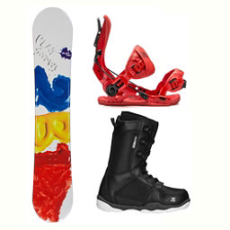 2B1 Play Red ST-1 Two Complete Snowboard Package 2018, , 256