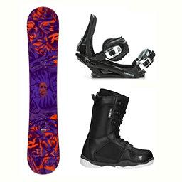 Rossignol District AmpTek Wide ST-1 Complete Snowboard Package 2018, , 256