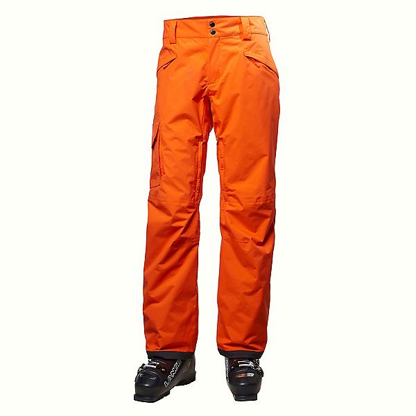 Helly Hansen SOGN Cargo Mens Ski Pants, Flame, 600