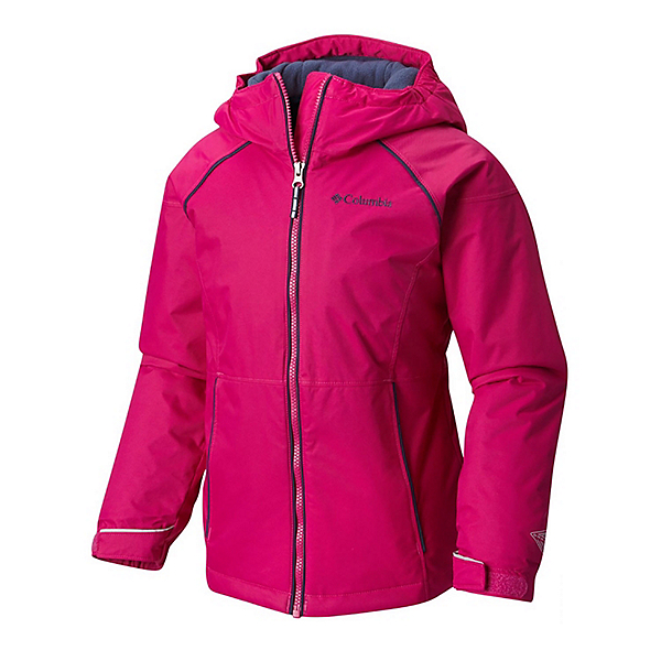 Columbia Alpine Action Toddler Girls Ski Jacket, Deep Blush, 600