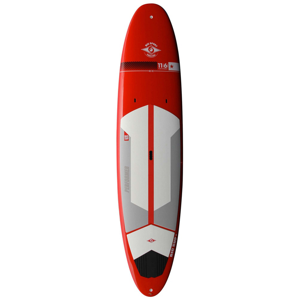 BIC Sport 11'6 Performer Red Stand Up Paddleboard im test