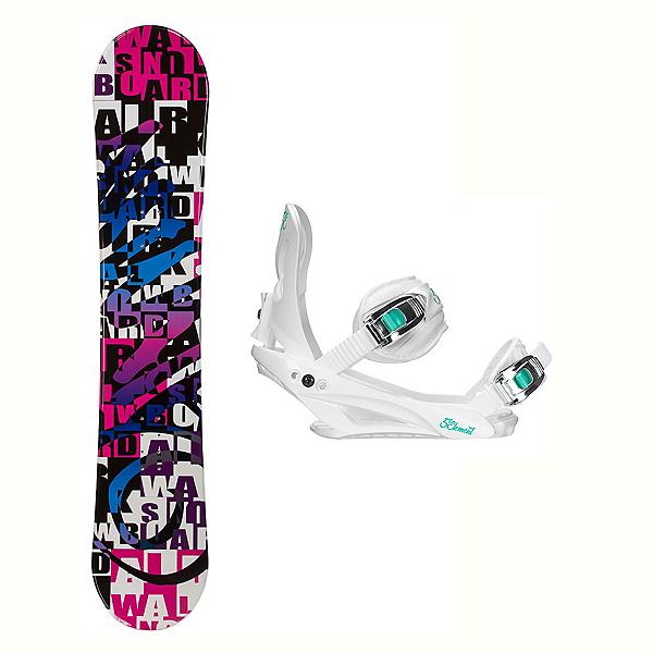 Airwalk Billboard Layla Womens Snowboard And Binding