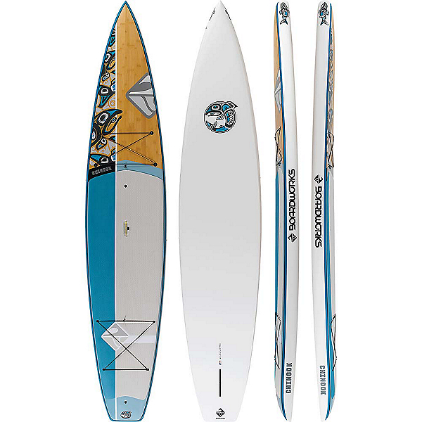 Boardworks Surf Chinook 12'6 Stand Up Paddleboard 2019, , 600