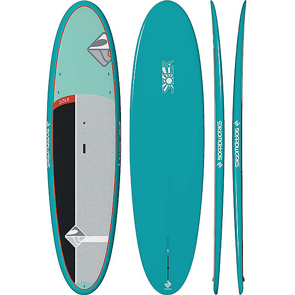 Boardworks Surf Solr 10'6 Stand Up Paddleboard 2019, Light Green-Grey, 600