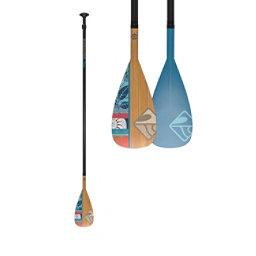 Boardworks Surf Muse Wood/Carbon Adjustable Stand Up Paddle 2018, , 256