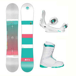 Flow Venus L-1 Two Womens Complete Snowboard Package 2018, , 256