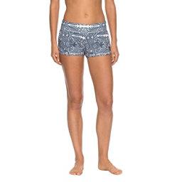 Roxy Endless Summer Printed Womens Board Shorts, Marshmallow Tribal Vibes Strip, 256