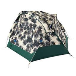The North Face Homestead Domey 3 Tent, Peyote Beige Birding Print-Jas, 256