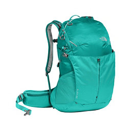 The North Face Aleia 22 Womens Daypack, Porcelain Green-Pool Green, 256