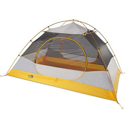 The North Face Stormbreak 3 Tent, Asphalt Grey-Papaya Yellow, 256