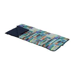 Burton Dirt Bag 40 Regular Sleeping Bag 2018, Block Quilt, 256