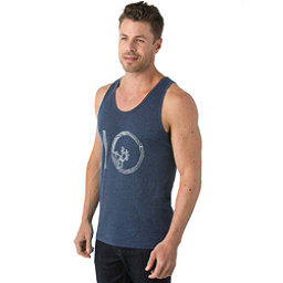 Tentree Wildwood Ten Mens Tank Top, Vintage Indigo, 256
