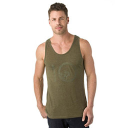 Tentree Wildwood Ten Mens Tank Top, Olive Night, 256