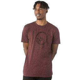 Tentree Wildwood Ten Tee Mens T-Shirt, Catawba Grape, 256