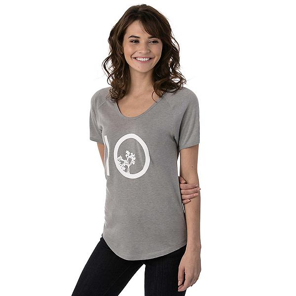 Tentree Leaf Ten Tee Womens T-Shirt, Lunar Rock, 600