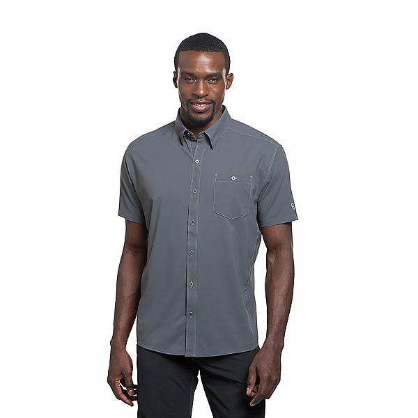 KUHL Bandit Short Sleeve Mens Shirt, Carbon, 600