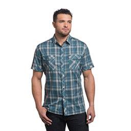 KUHL Konquer Short Sleeve Mens Shirt, Reflective Harbor, 256