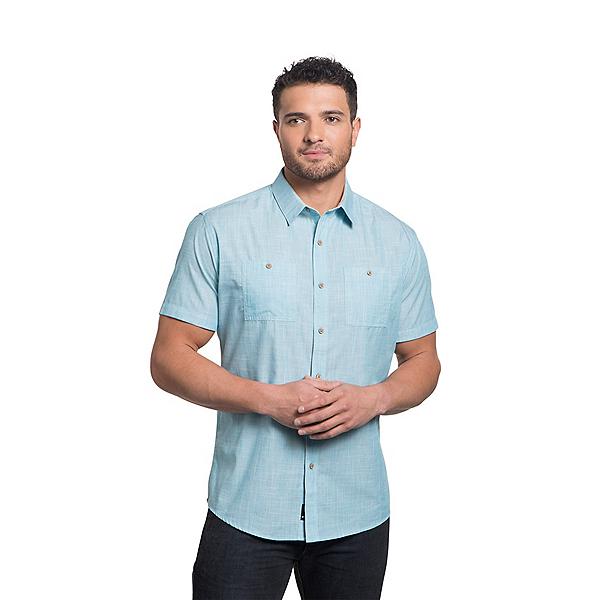 KUHL Karib Mens Shirt, Antigua Blue, 600