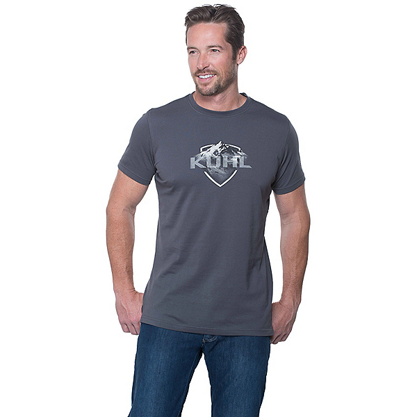 KUHL Born in the Mountains Mens T-Shirt, Carbon, 600