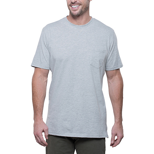 KUHL Stir Mens T-Shirt, Heather Grey, 600