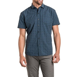 KUHL Intrepid Short Sleeve Mens Shirt, Pirate Blue, 256