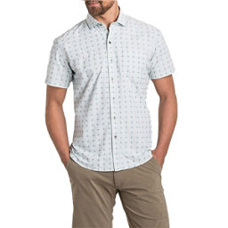 KUHL Intrepid Short Sleeve Mens Shirt, Sail Blue, 256