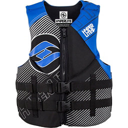 Hyperlite Indy Neo Vest Adult Life Vest 2018, Black-Blue, 256