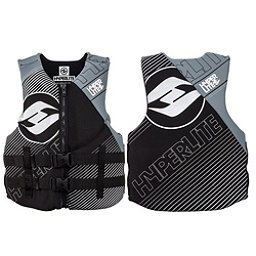 Hyperlite Indy Neo Vest Adult Life Vest 2018, Black-Grey, 256