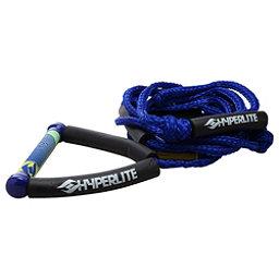 Hyperlite Surf Rope with Handle Wakesurf Rope 2018, Blue, 256