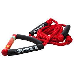 Hyperlite Surf Rope with Handle Wakesurf Rope 2018, Red, 256