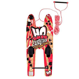 HO Sports Sure Shot Platform Trainer Junior Combo Water Skis With Bindings 2018, , 256