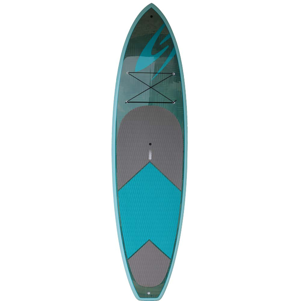 Surftech Chameleon 10'4 TEKEfx Hybrid Touring Stand Up Paddleboard im test
