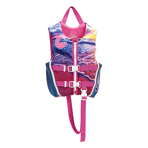Connelly Classic Child Neo Girls Toddler Life Vest, , 600