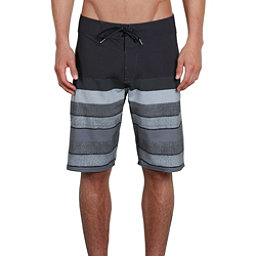Volcom Lido Liney Mod Mens Board Shorts, Black, 256