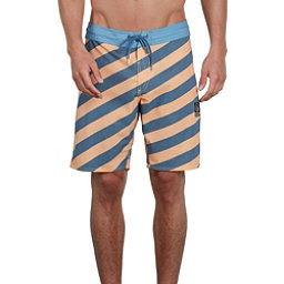Volcom Stripey Stoney Mens Board Shorts, Summer Orange, 256