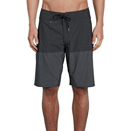 Volcom Lido Heather Mod Mens Board Shorts, Black, 256