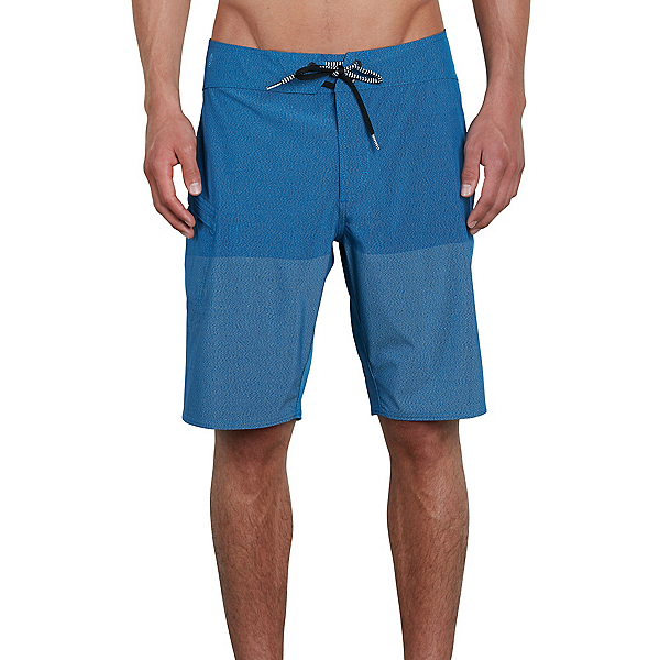 Volcom Lido Heather Mod Mens Board Shorts, Camper Blue, 600