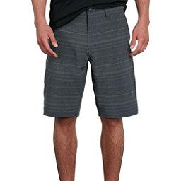 Volcom Frickin Surf N Turf Mix Mens Hybrid Shorts, Black, 256
