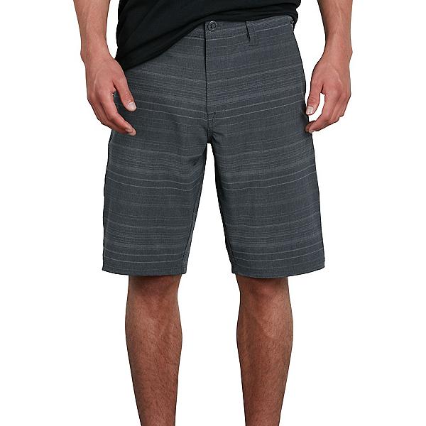 Volcom Frickin Surf N Turf Mix Mens Hybrid Shorts, Black, 600
