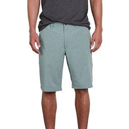 Volcom Frickin Surf N Turf Static Mens Hybrid Shorts, Sage, 256
