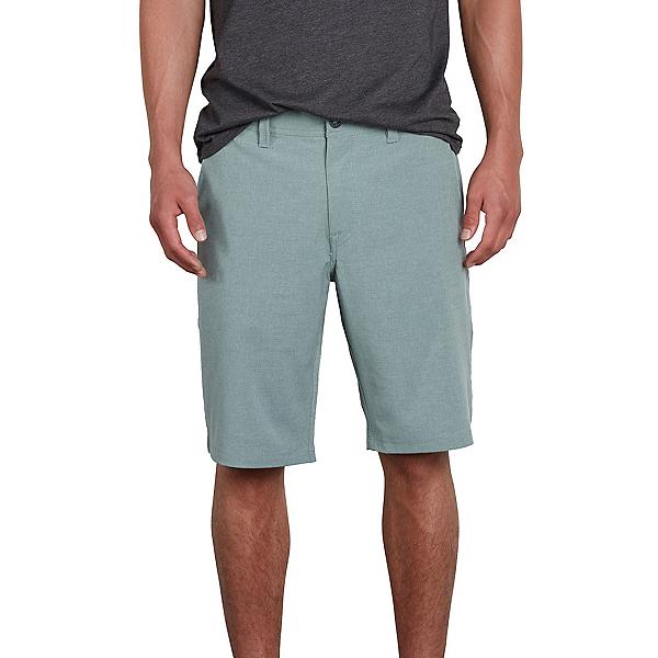 Volcom Frickin Surf N Turf Static Mens Hybrid Shorts, Sage, 600