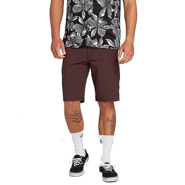 d5e312eaa0 Volcom Frickin Surf N Turf Static 2 Mens Hybrid Shorts, Wine, 600