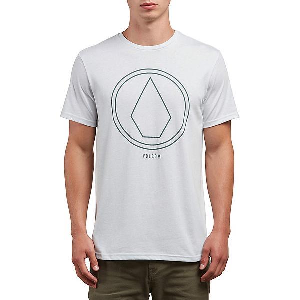 Volcom Pin Line Stone Mens T-Shirt, White, 600
